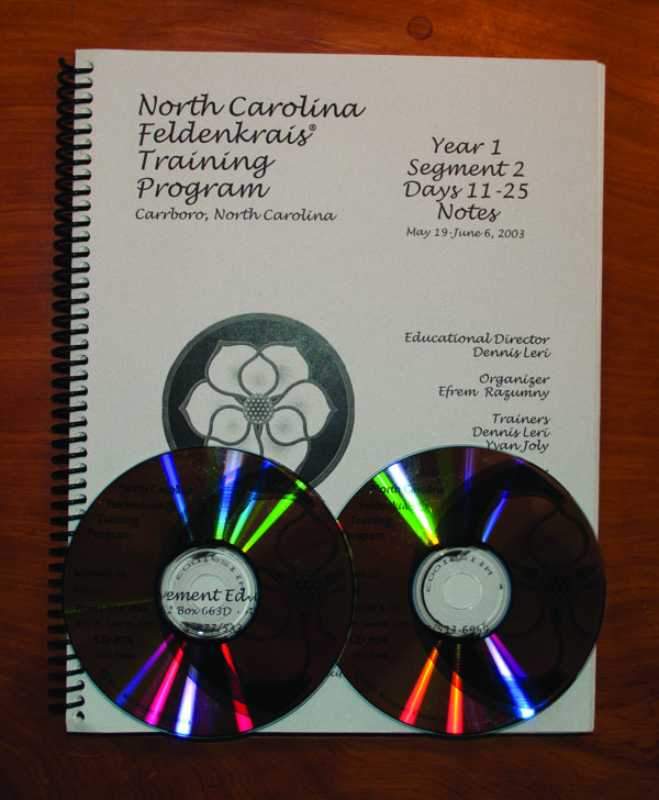 North Carolina Segment 2/Year 1; Transcript, CDs