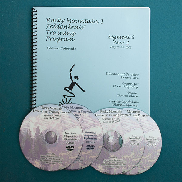Rocky Mountain 1 Segment 06/Year 2; Transcript, CDs, DVDs