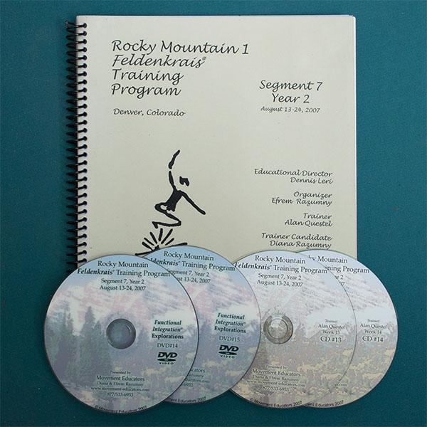 Rocky Mountain 1 Segment 07/Year 2; Transcript, CDs, DVDs