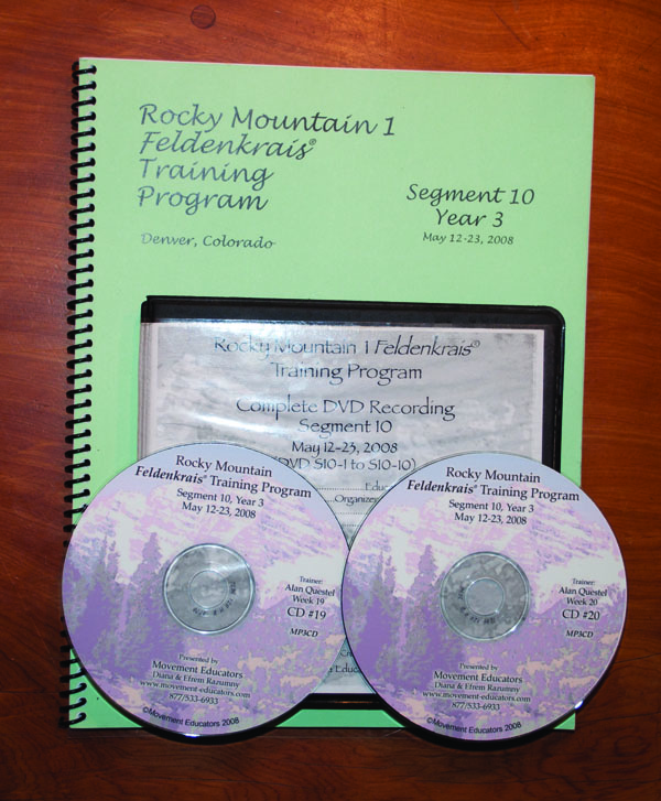 Rocky Mountain 1 Segment 10/Year 3; Transcript, CDs, DVDs