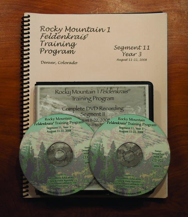 Rocky Mountain 1 Segment 11/Year 3; Transcript, CDs, DVDs