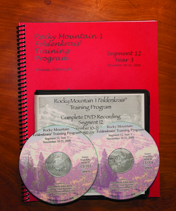 Rocky Mountain 1 Segment 12/Year 3; Transcript, CDs, DVDs