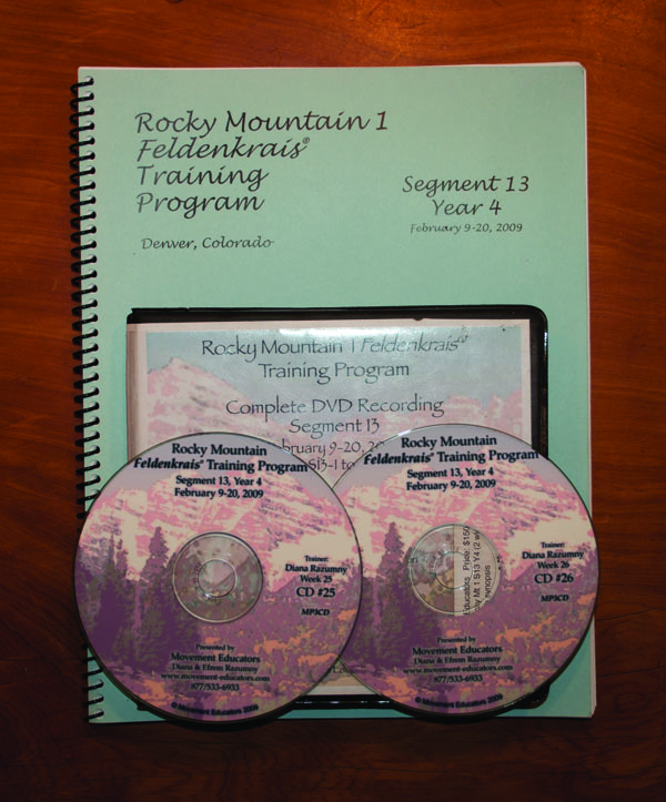 Rocky Mountain 1 Segment 13/Year 4; Transcript, CDs, DVDs