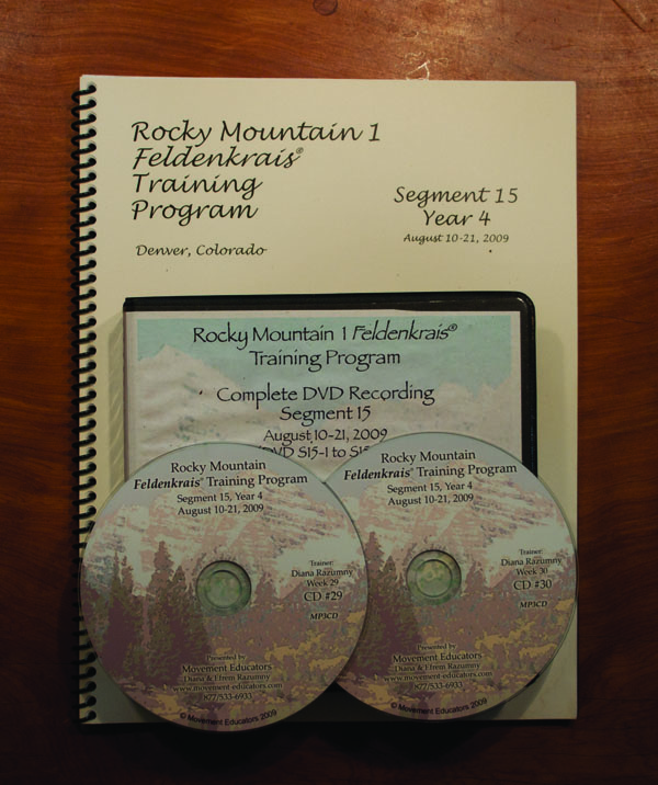 Rocky Mountain 1 Segment 15/Year 4; Transcript, CDs, DVDs