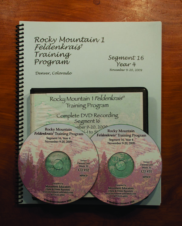Rocky Mountain 1 Segment 16/Year 4; Transcript, CDs, DVDs