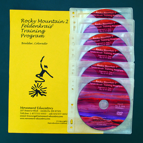 Rocky Mountain 2 Segment 11/Year 3; Transcript, CDs, DVDs