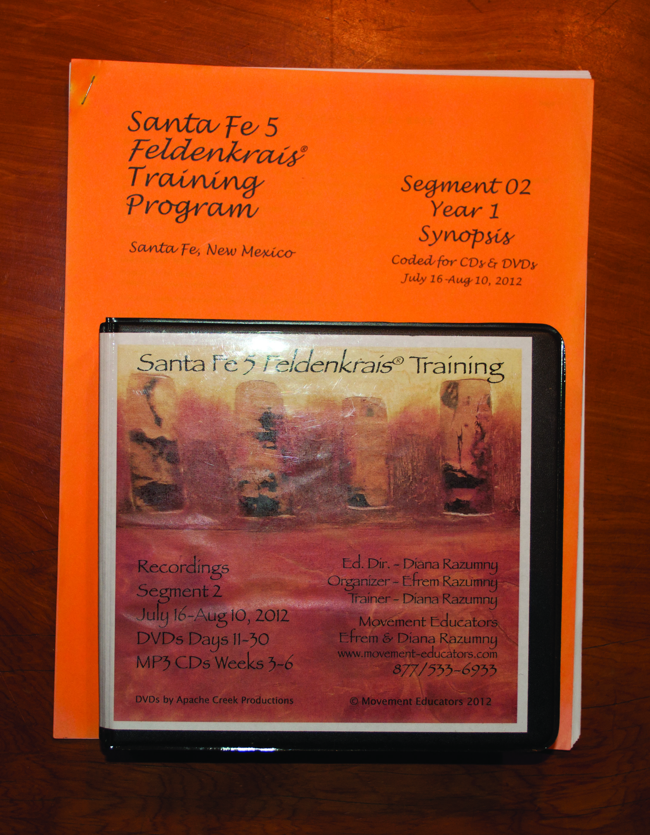 Santa Fe 5 Segment 02/Year 1; Complete DVD & MP3 CD Recordings