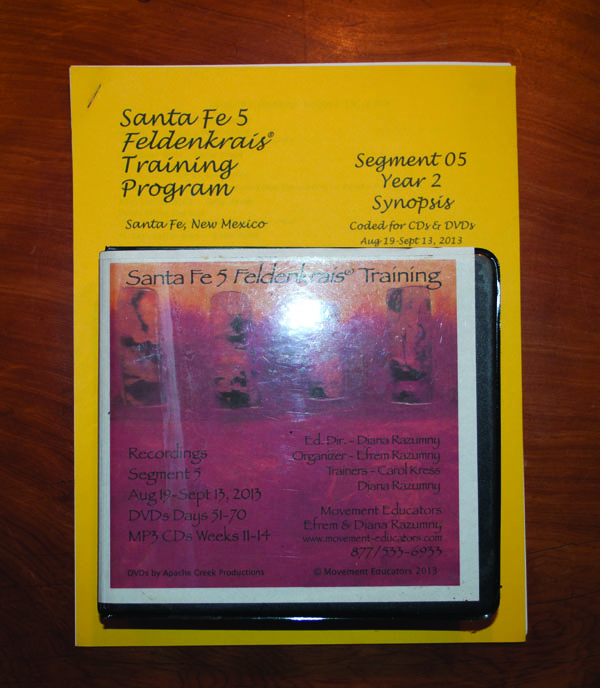Santa Fe 5 Segment 05/Year 2; Complete DVD & MP3 CD Recordings