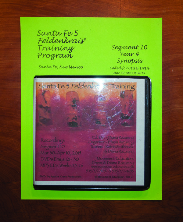 Santa Fe 5 Segment 10/Year 4; Complete DVD & MP3 CD Recordings