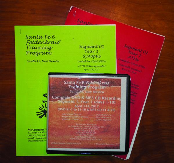 Santa Fe 6 Segment 01/Year 1; Complete DVD & MP3 CD Recordings; 10 days of training