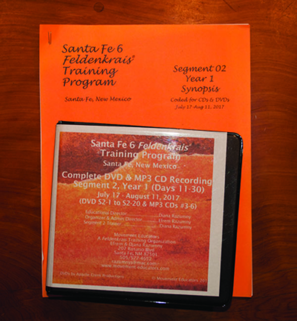 Santa Fe 6 Segment 02/Year 1; Complete DVD & MP3 CD Recordings; 20 days of training
