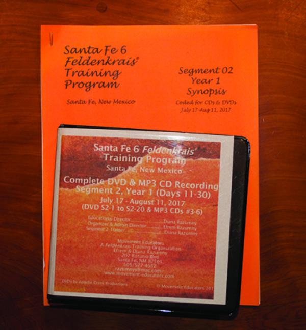 Santa Fe 6 Segment 02/Year 1; Complete DVD & MP3 CD Recordings; 20 days of training