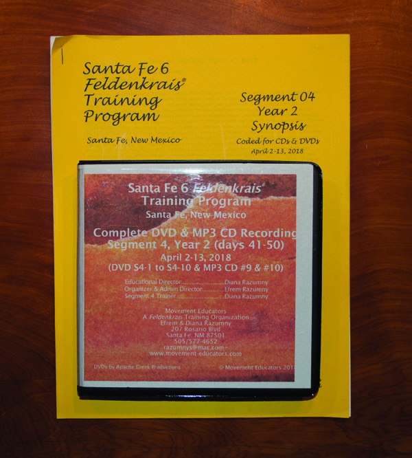 Santa Fe 6 Segment 04/Year 2; Complete DVD & MP3 CD Recordings; 10 days of training