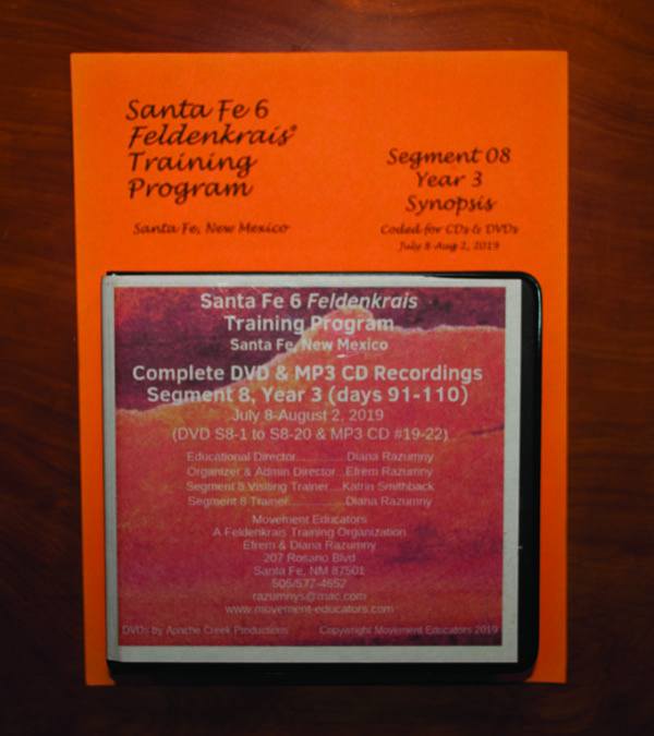 Santa Fe 6 Segment 08/Year 3; Complete DVD & MP3 CD Recordings; 20 days of training